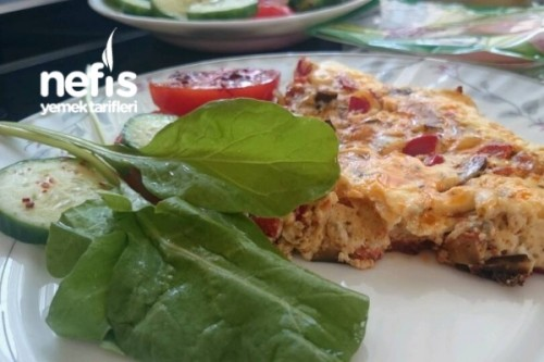 Patlıcanlı Omlet Tarifi