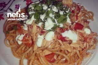 Tavuklu Spaghetti Tarifi