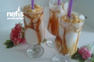 Vanilyalı Karamel Soslu Milkshake Tarifi