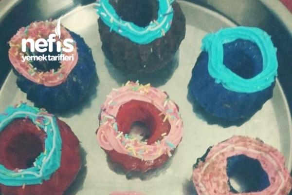 Süslü Cupcakeler Tarifi