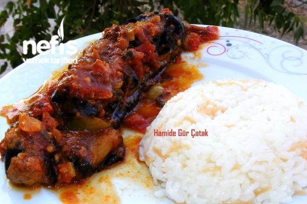 Fırında Soslu Patlıcan Kebabı Tarifi