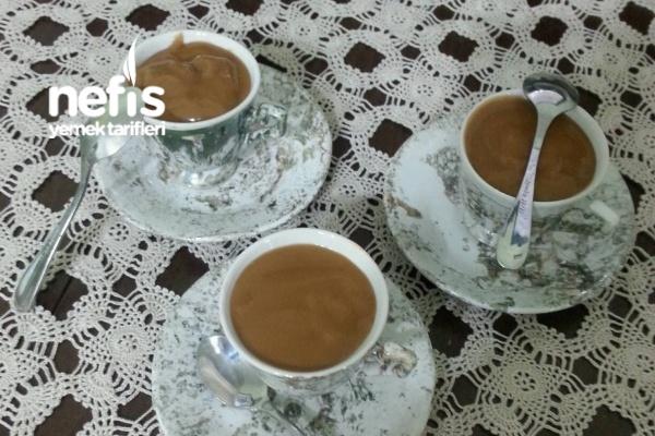 Kahvesi Puding Tarifi