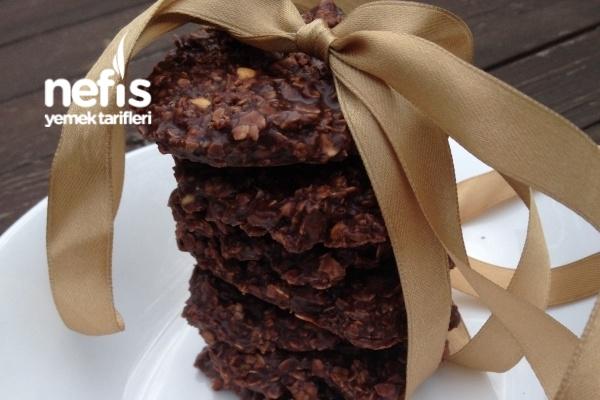 Pişmeyen Çikolatalı Cookie Tarifi