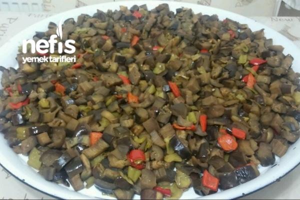 Kışlık Patlıcan Hazırlığı Tarifi