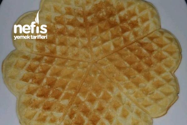 Waffle Hamuru Tarifi — Resimli Yemek Tarifleri