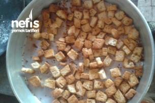 Baharatlı Çıtır Ekmek ( Kruton) Tarifi