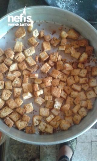 Baharatlı Çıtır Ekmek ( Kruton)