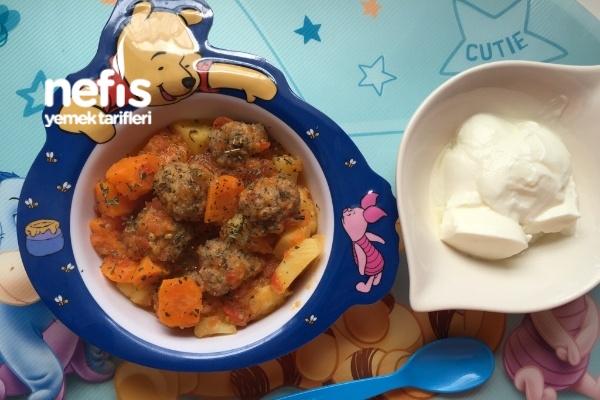 Bebeklere Köfte Patates  10 Ay Tarifi