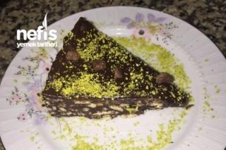 Çikolatalı Fıstıklı Mozaik Pasta Tarifi