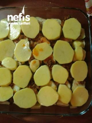 Beşamel Soslu Patlıcan Ve Patates