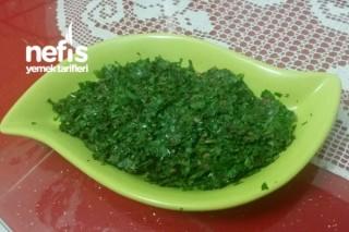 Kimyonlu Maydanoz Salatası Tarifi