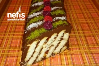 Pratik Bisküvili Pasta Tarifi