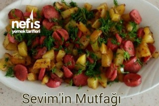 Sosisli Patates Kahvaltılık Tarifi