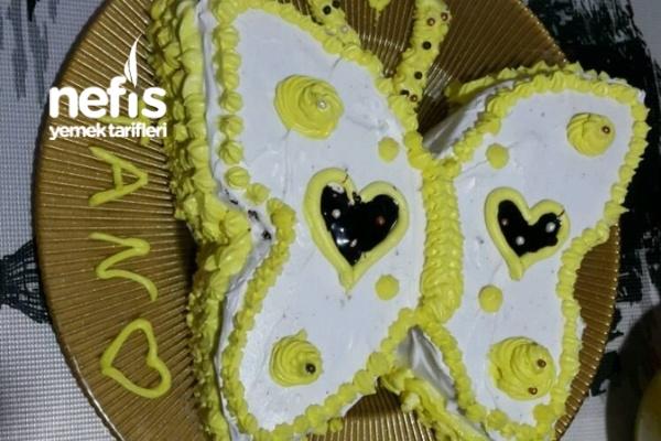 Çikolatalı Kelebek Pasta Tarifi