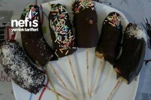 Çikolatalı Çubuk Muz Tarifi