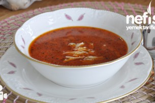 Paça Tadında Tavuk Çorbası Yapımı Tarifi