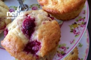 Frambuazlı Muffin Tarifi
