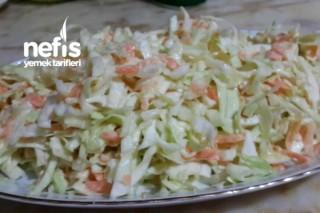 Caslow Salatası ( Beyaz Lahana Salatası) Tarifi
