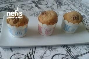 Çaylı Cevizli Muffin Tarifi