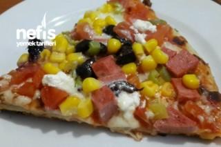 Tavada Kolay Pizza Tarifi