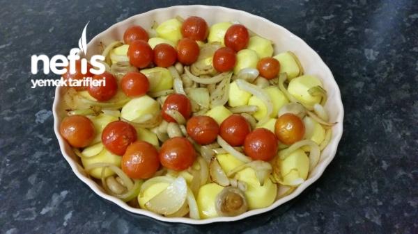 Tavuk Fileto İle Sebze Yemeği