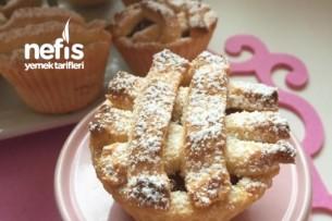 Muffin Kalıbında Elmalı Tart Tarifi