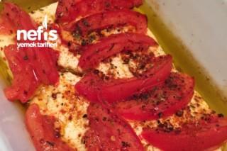 Fırında Domatesli Beyaz Peynir (Aperatif) Tarifi