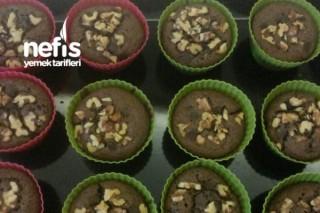 Cevizli Çikolatalı Cupcake Tarifi