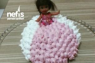 Barbie Pasta (Pandispanyasız) Tarifi