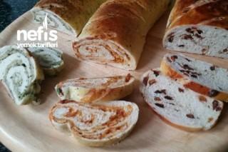 Bir Hamurdan Çeşitli Ekmekler Tarifi