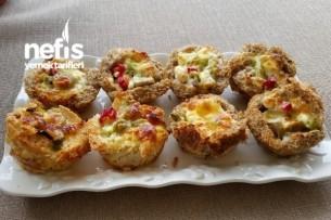 Ekmekten Minik Pizza Tarifi