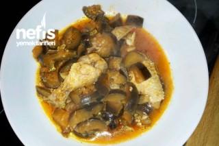 Tavuk Kanatlı Patlıcan Yemeği Tarifi
