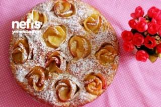 Elmalı Gül Pasta Tarifi
