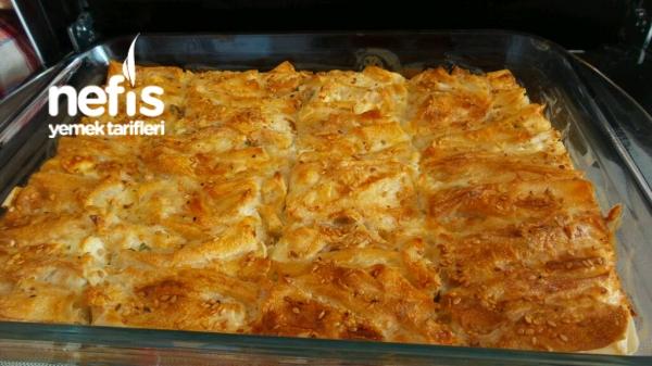 Kremalı Kırma Böreği Tarifi - Nefis Yemek Tarifleri
