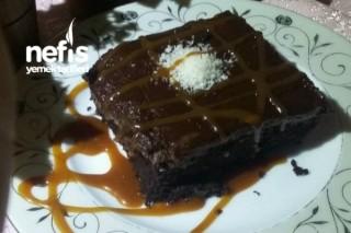 Kurabiye Hamurlu Browni (Damla Çikolatalı) Tarifi