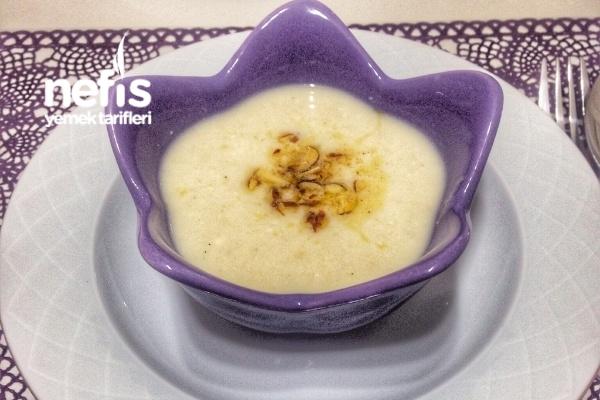 Sütlü Badem Çorbası Tarifi