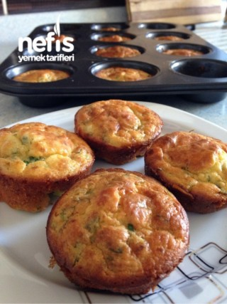 Kahvaltılık Patatesli Tuzlu Muffin