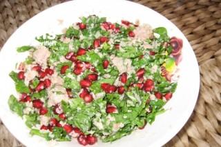 Ton Balığı Salatası (bulgurlu) Tarifi