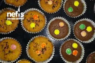 Bonibonlu Üzümlü Ve Kakaolu Muffinler Tarifi
