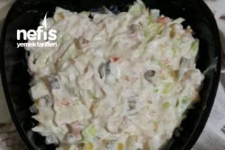 Tavuk Salatası (Yoğurtlu Pratik Ve Lezzetli ) Tarifi