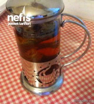 Zencefilli Ballı Ihlamur Çayı