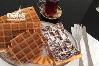 Çok Kolay Waffle Tarifi (Gauffre)