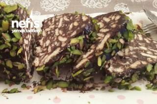 Bitter Çikolatalı Mozaik Pasta Tarifi