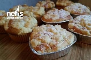 Elmalı Kırıntı Muffinler Tarifi
