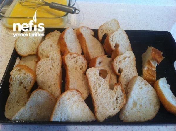 Yumurtalı Ekmek Kızartması ( Balık Ekmek)