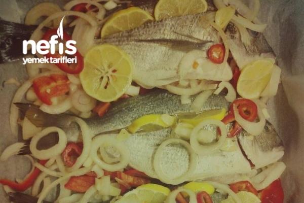 Fırında Sebzeli Çupra