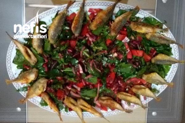 Kırmızı Pancarlı Roka Salatası Tarifi