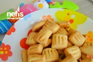Yumurtasız Bebe Bisküvisi +6 Ay Tarifi