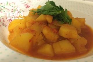 Zeytinyağlı Patates Yemeği Tarifi