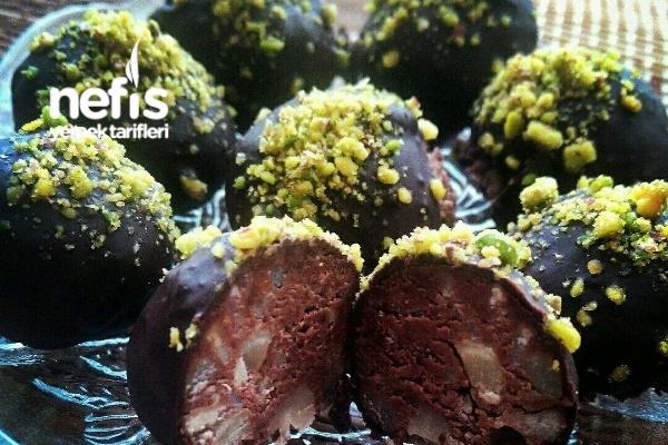 Kestaneli Truff (Çikolatalı Kestane Şekeri) Tarifi